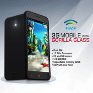 Swipe 12.7 cm 3G Mobile with Gorilla Glass