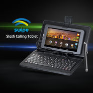 Swipe Slash Calling Tablet