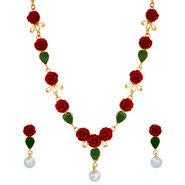 Coral Necklace Set