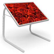 Shoper52 Designer Portable Adjustable Dinner Cum Laptop Tray Table-TABLE079