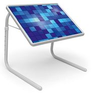 Shoper52 Designer Portable Adjustable Dinner Cum Laptop Tray Table-TABLE094