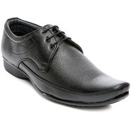 Black Faux Leather Formal Shoes -tens78
