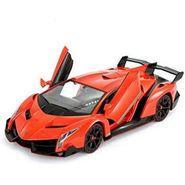 Lamborghini Veneno Style Full Function Rechargeable RC Car - Orange