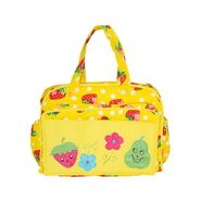 Tumble Yellow Strawberry Embroidery Baby Diaper Bag