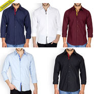 Pack of 5 Incynk Smart Casual Shirts