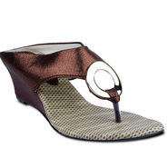 Ten Synthetic Sandals For Women_tenbl197 - Brown