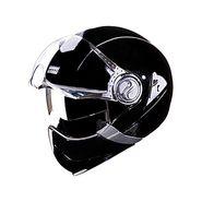 Studds - Full Face Helmet - Downtown Full Face Flip Off (Black) [Large - 58 cms]