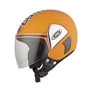 Studds - Open Face Helmet - Cub 07 Decor (Orange) [Large - 58 cms]
