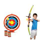 Kids Archery Toy Set of Bow, Suction Arrow, Dart Board