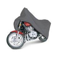 Universal Size Bike Body Cover With Side Mirror - Dark Grey