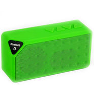 Adcom X3 Mini Wireless Mobile/Tablet Speaker - Green