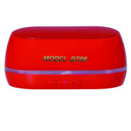 Adcom Mini-BT06 Wireless Mobile/Tablet Speaker - Red