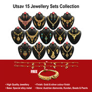 Utsav 15 Jewellery Sets Collection