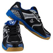 V22 Badminton Court Black and Grey Shoes Size - 11
