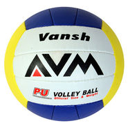 AVM Multicolor Vansh PU Volleyball - Standard