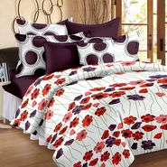 Storyathome 100% Cotton Double Bedsheet With 2 Pillow Cover-VL1202
