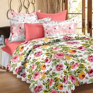 Storyathome 100% Cotton Double Bedsheet With 2 Pillow Cover-VL1204