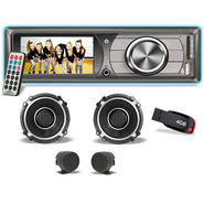 VOX Car Multimedia Player with 3inch Video Screen, USB, FM Radio & Remote Control