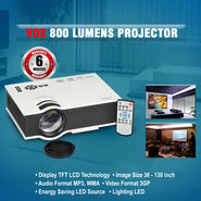 VOX 800 Lumens LED Projector