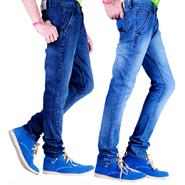 Velgo Club Pack of 2 Plain Regular Fit Jeans_NPG-JEN-12-14