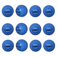 AVM Blue Windball 15 Cricket Ball Size Standard Dia 6.5 cm - 12 Pcs