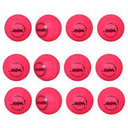 AVM Orange Windball-17 Cricket Ball - Size Standard, Dia 6.5 cm - 12 Pcs