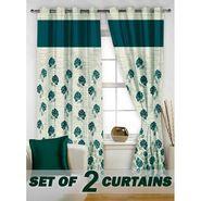 Set of 2 Printed Window curtain-5 feet-WBR_2_4016