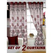Set of 2 Printed Window curtain-5 feet-WBR_2_4025