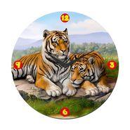 meSleep Lion Digital Printed Wall Clock -WC-R-01-01