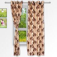 Story @ Home Coffee 2 pc Window curtain-5 feet-WNR3043