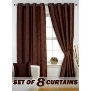 Set of 8 Printed  Window curtain-5 feet-WNR_4_3019