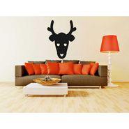 Animal face Decorative Wall Sticker-WS-08-023
