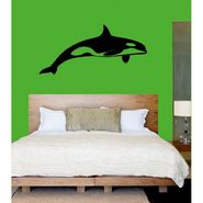 Black Fish Decorative Wall Sticker-WS-08-043