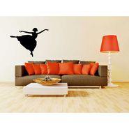 Dancing Girl Decorative Wall Sticker-WS-08-156