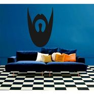 Black Face Wall Sticker-WS-08-158