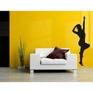 Dancing Girl Decorative Wall Sticker-WS-08-171