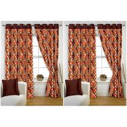 Storyathome Set of 4  Window curtain-5 feet-WTZ_2-1007