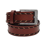 Walletsnbags Harness Leather Belt - Tan