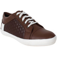 Yellow Tree PU Brown Casual Shoes -sos03
