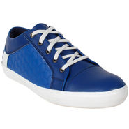 Yellow Tree PU Royal Blue Casual Shoes -sos09