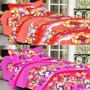 Valtellina Combo of 2 Kids Double Bed Sheets with 4 Pillow Covers-YTD_C2_41_44