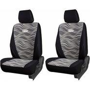 Branded Printed Car Seat Cover for Skoda Fabia - Black