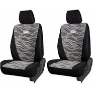 Branded Printed Car Seat Cover for Skoda Superb - Black