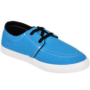 Foot n Style Canvas Navy Casual Shoes -fs655
