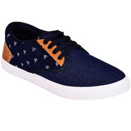 Foot n Style Denim Blue Casual Shoes -fs667