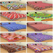 Set of 10 Double BedSheets With 20 Pillow Covers-grj-db-10-9