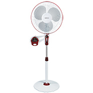 Havells Sprint LED 400 mm Pedestal Fan - Wine Red
