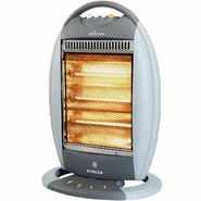 Singer Heatmax 1200 Watts 3 Rod Halogen Heater
