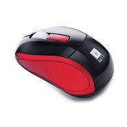 iBall FreeGo mini Cordless Mouse - Red & Black