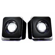 Moelissa Terabyte E-02B 2.0 Ch. USB Mulitimedia Speaker - Black